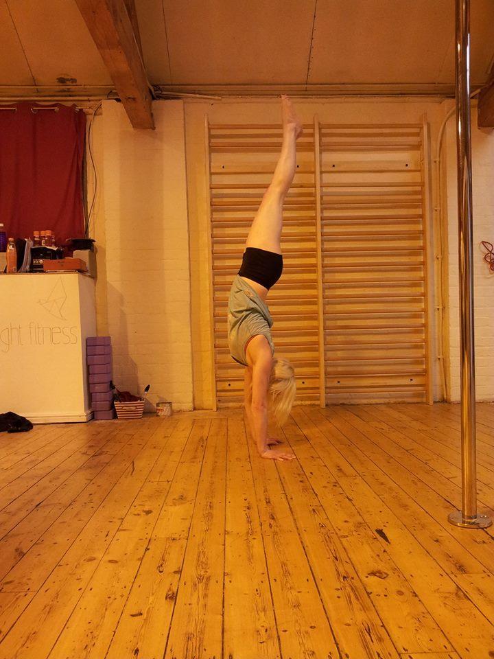 handstand masterclass gymnastics pole dance leicester learn to pole dance leicester pole fitness leicester