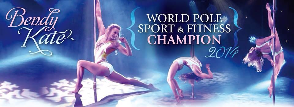 Bendy kate world champion pole dancer masterclass leicester flight fitness learn to pole dance leicester