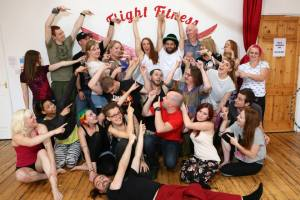flight fitness charity macmillan fundraiser